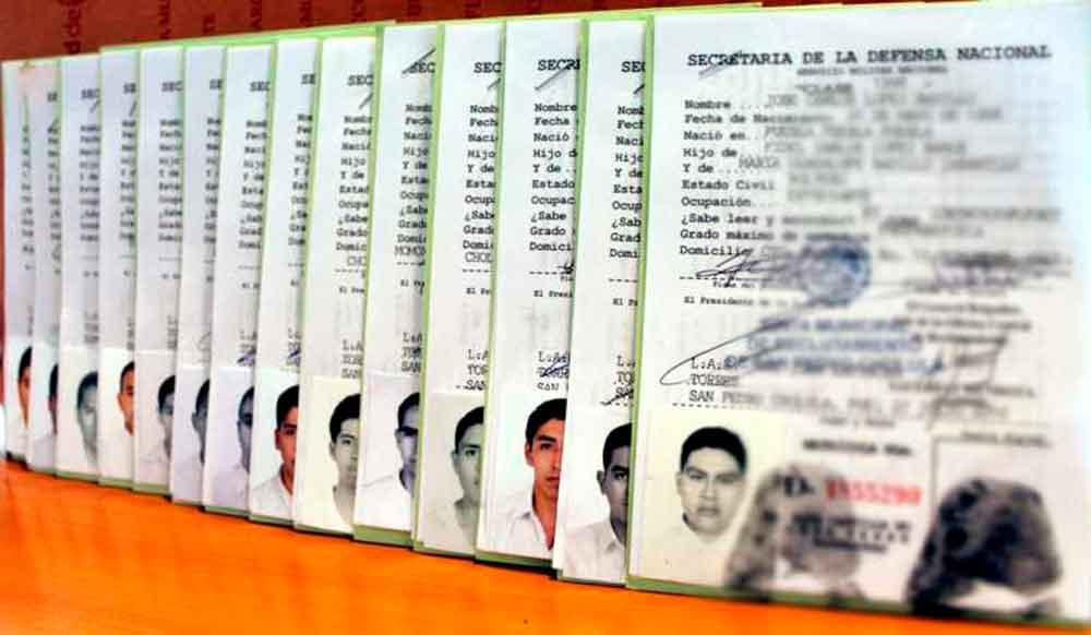 Solicitantes de Cartilla Militar deben acudir por sus documentos