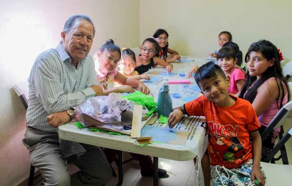 Mantiene DIF Tecate, activa participación de niñas y niños en El Recreo
