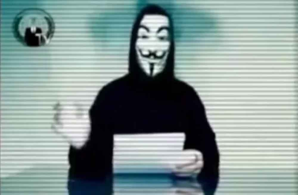 Anonymous convoca a ciberataque masivo en Tijuana