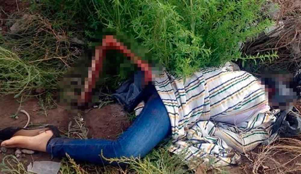 Sin rostro y con la pierna descarnada, encuentran el cadáver de una mujer