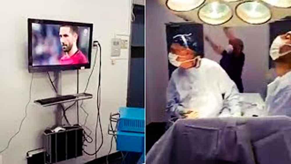 Cirujanos dejan de operar para ver los penaltis del Chile-Portugal