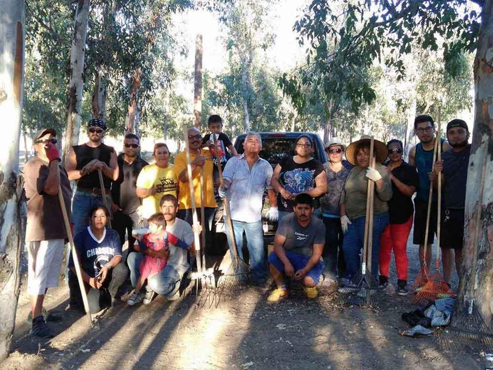 Rehabilitan parque del Ejido Chula Vista