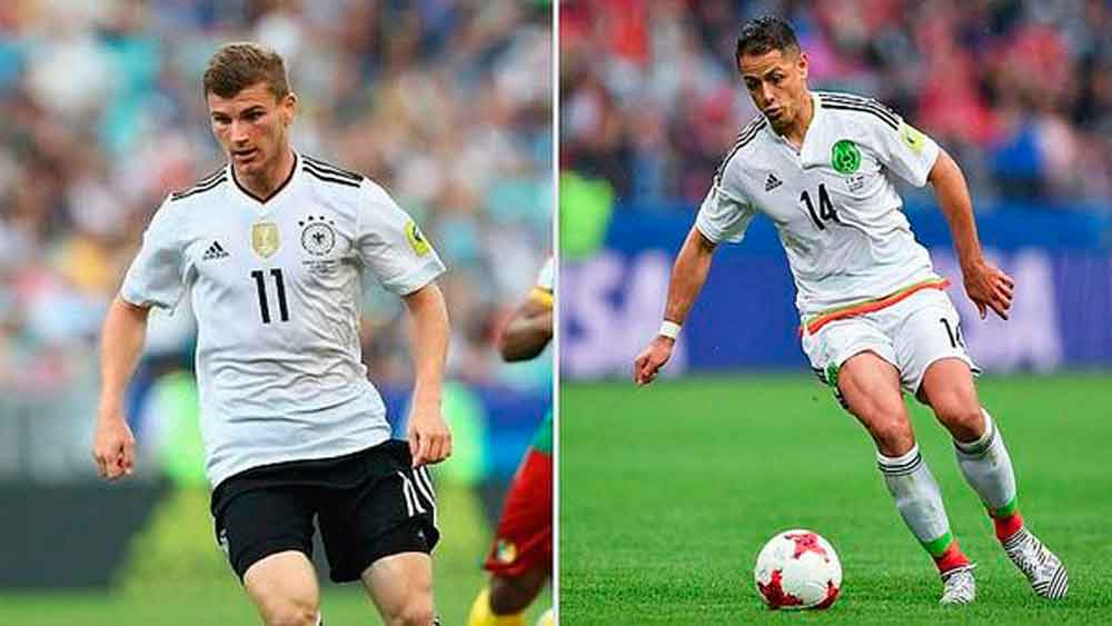 México pierde 2-0 contra Alemania en el primer tiempo