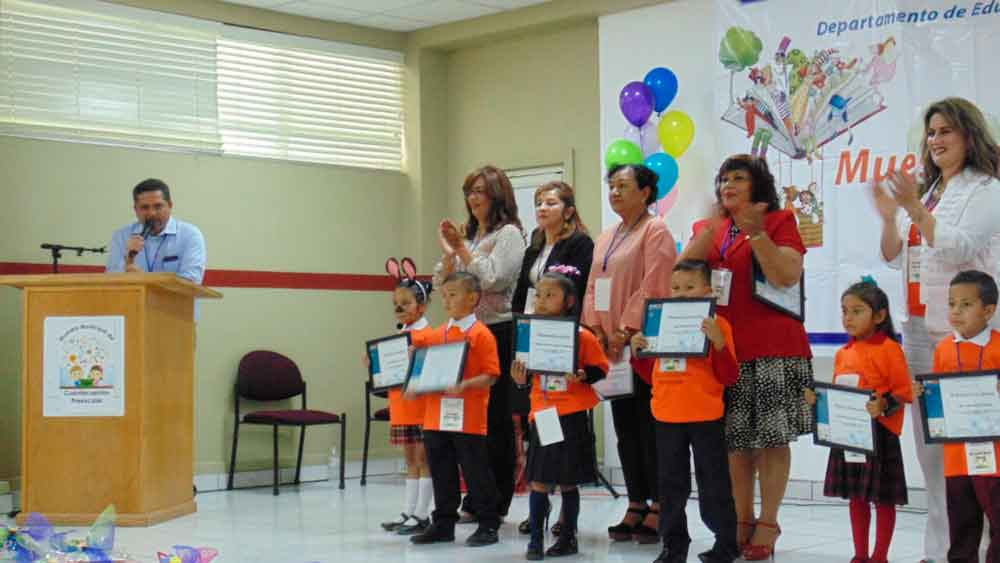 Realiza SEE Tecate muestra municipal de cuentacuentos