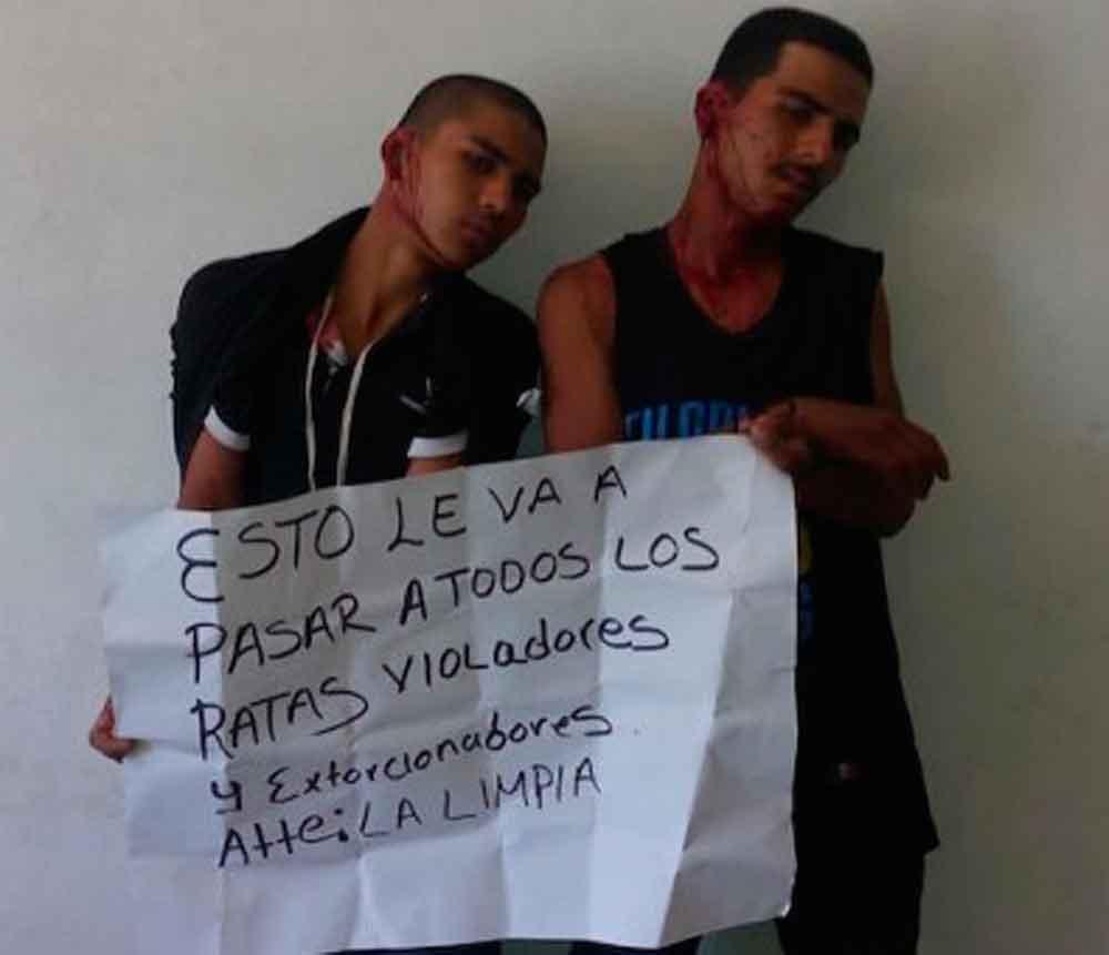 'Los justicieros de Irapuato' torturan a ladrones
