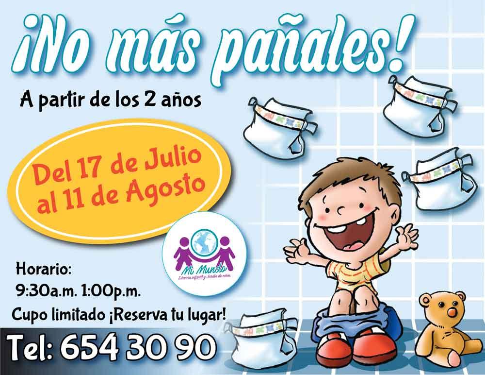"""Invitan a curso de """"Adiós al pañal"""" en Tecate"""