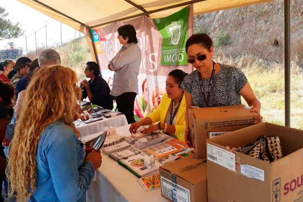 Realiza Gobierno de BC Primera Feria de Prevención de Adicciones