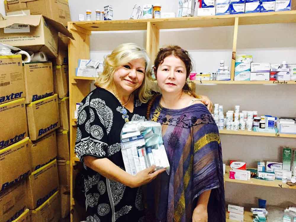 Disponible banco de medicamento gratuito: Lic. Marina Calderón