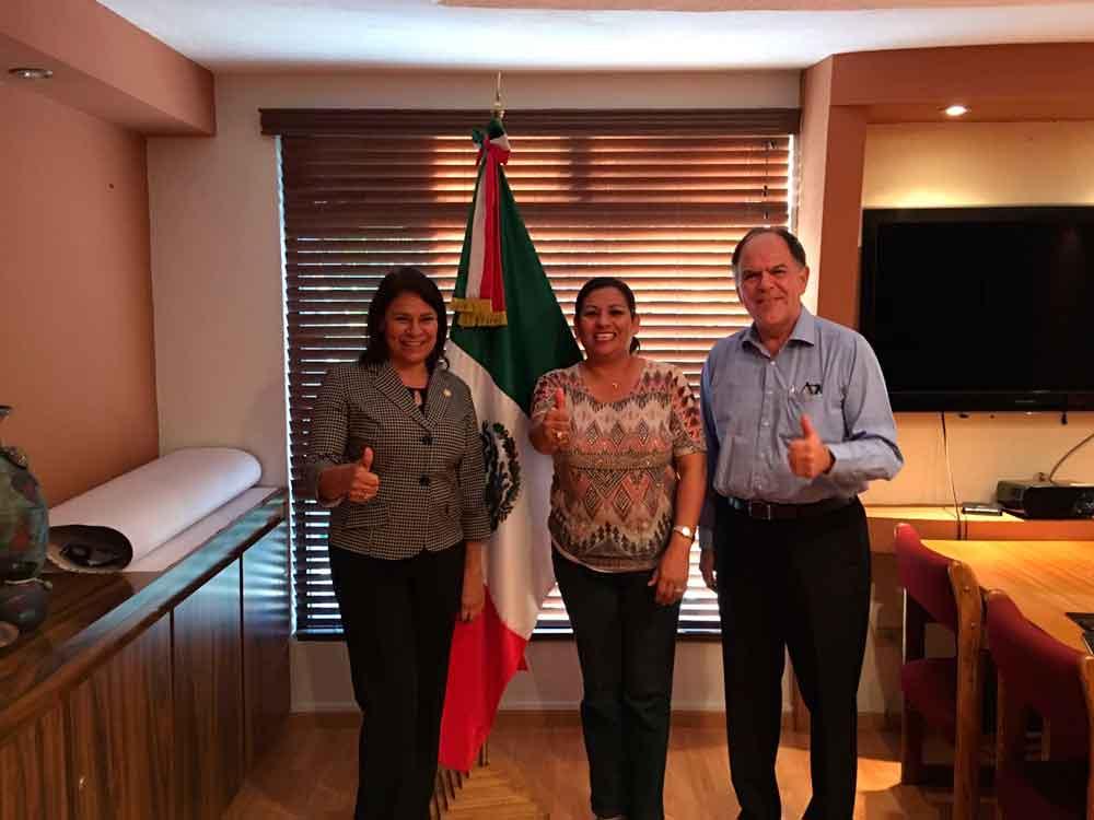 Respaldan la labor del XXII Ayuntamiento los legisladores federales   Rosario Rodríguez y Alfredo Ferreiro