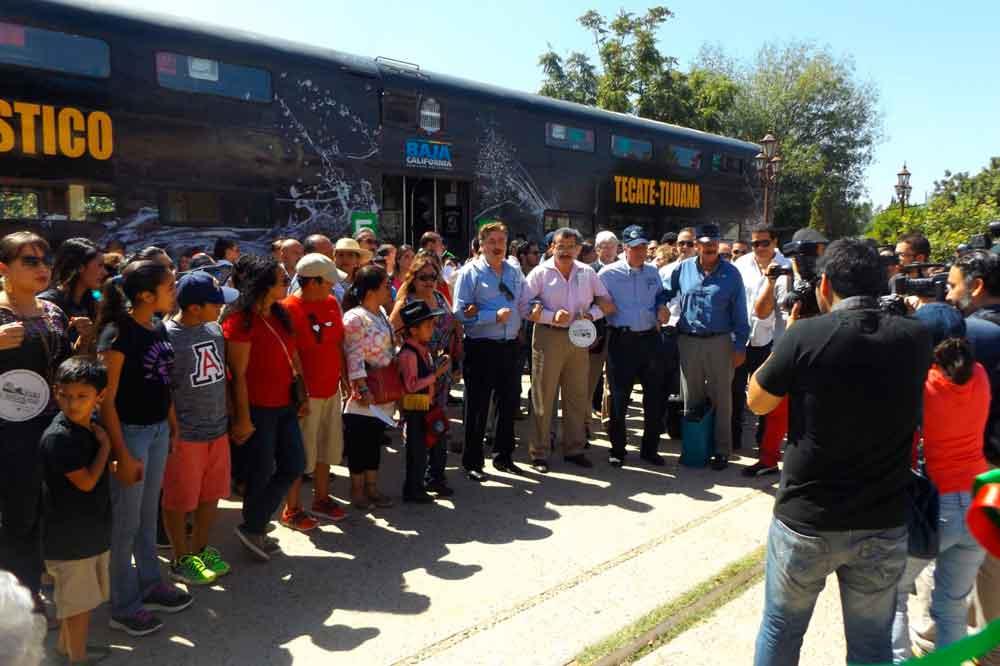 Promueve Gobierno de BC recorridos del tren turístico Tijuana-Tecate
