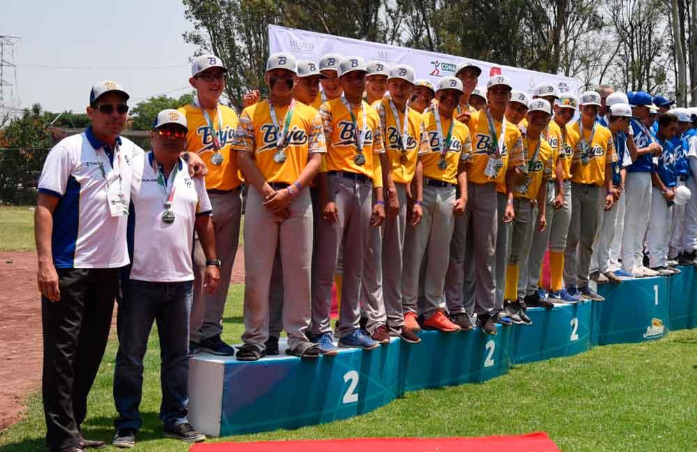 Baja California obtiene plata en beisbol