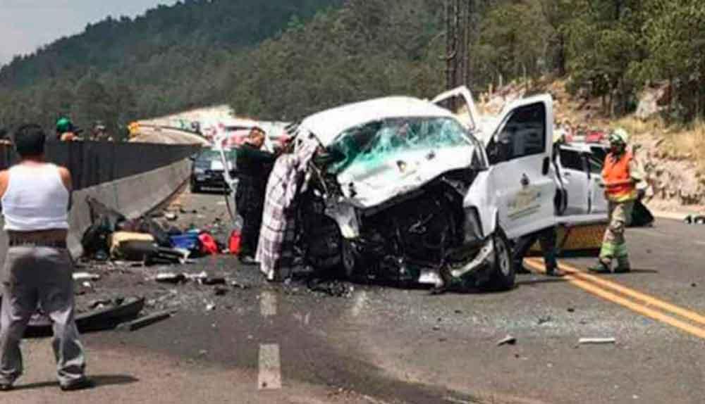 Terrible accidente carretero deja 6 muertos; entre ellos 2 niños
