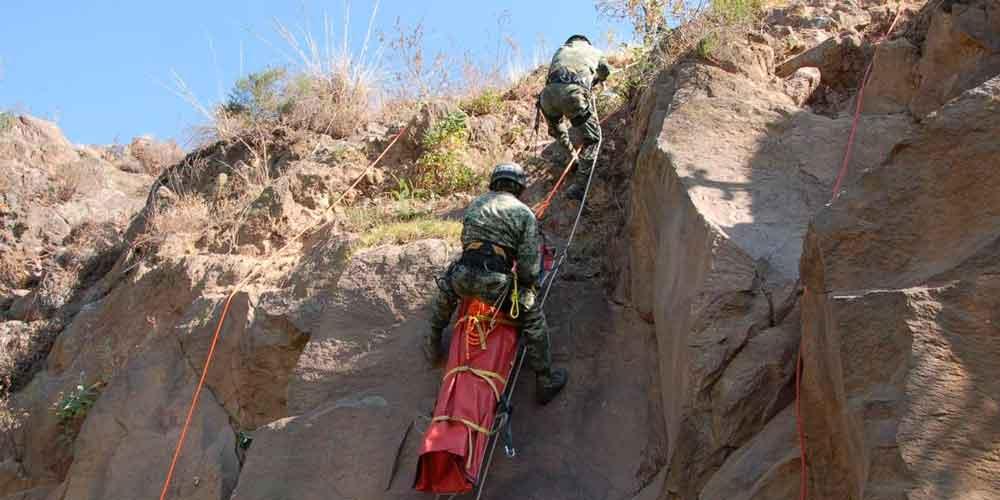 Mueren dos militares por deslave en Guerrero; 7 continúan desaparecidos