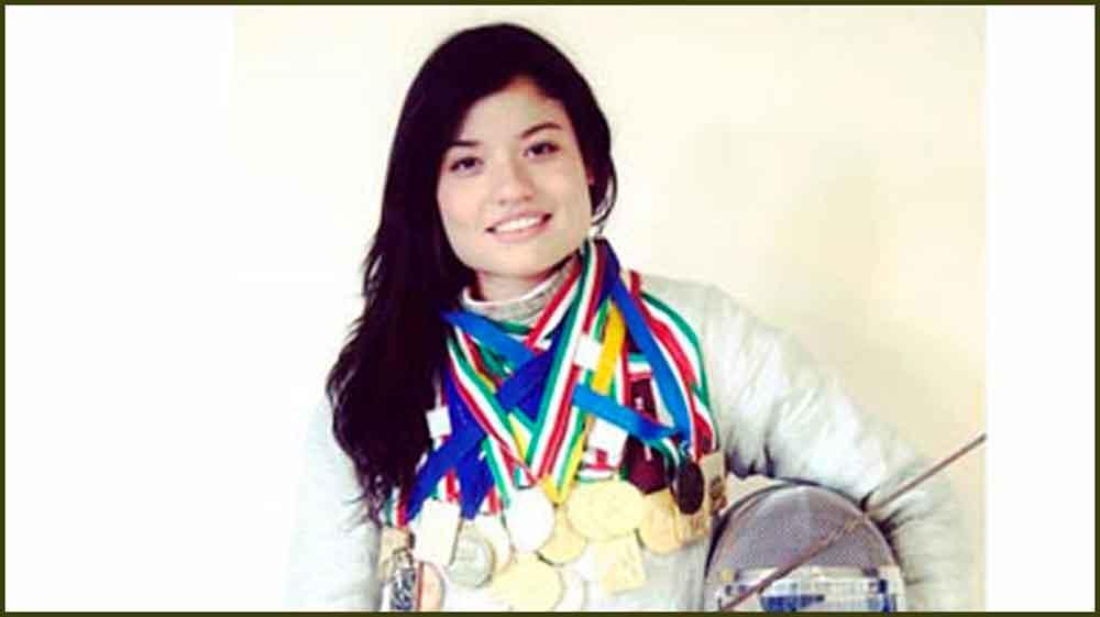 Esgrimista Tania Arrayales, al paseo de la fama en Tijuana