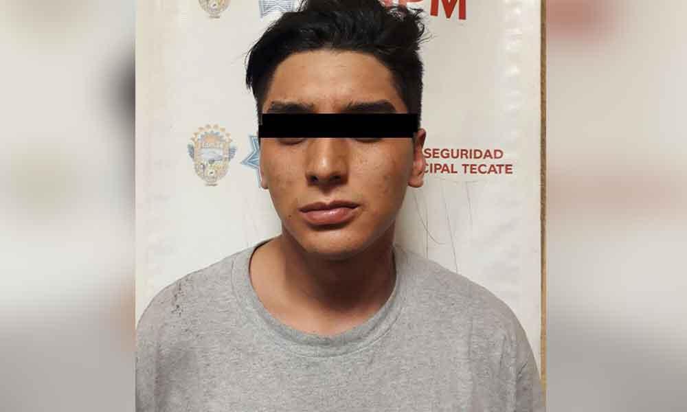 Presunto homicida es capturado en Tecate