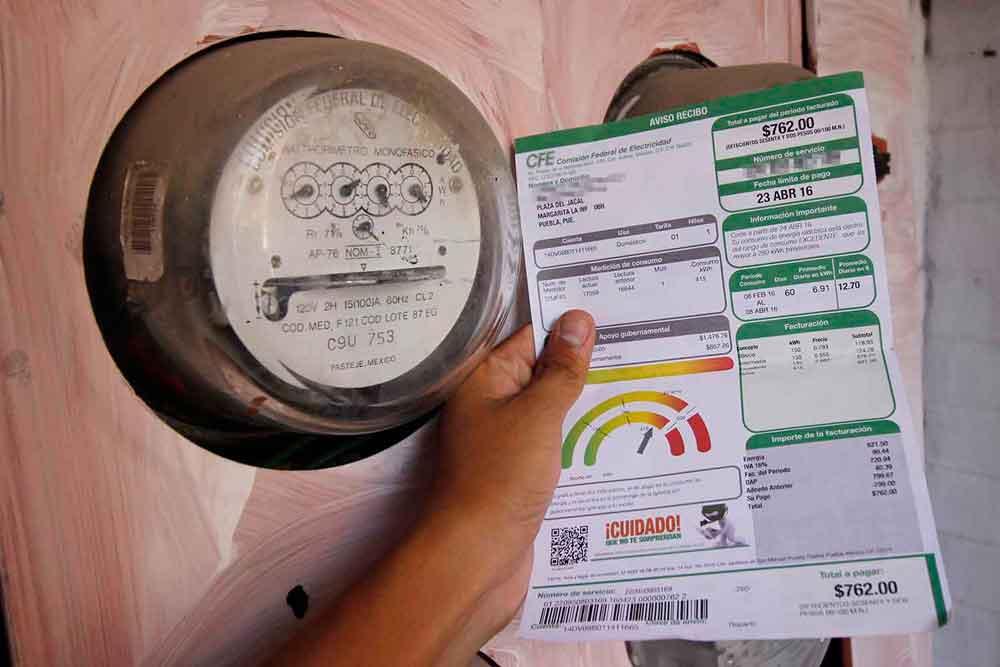 Anuncia CFE nuevas tarifas para junio