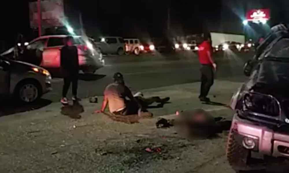 Conductor ebrio deja una jovencita muerta y varios menores lesionados