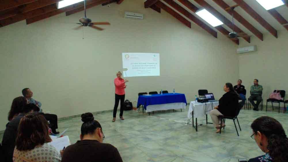 Ofrece SEE pláticas a supervisores y directores en Tecate