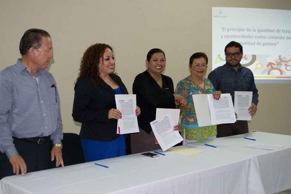 Firman Ayuntamiento e INMUJER alianza en pro de la igualdad de género