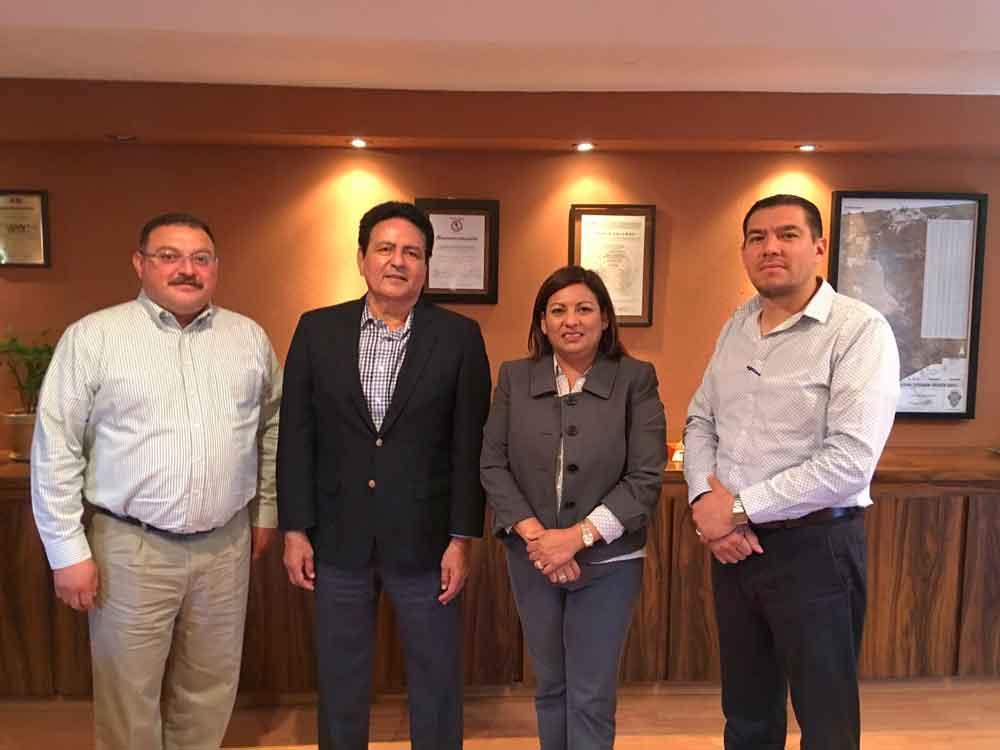 Alcaldesa sostiene reunión con titular de la Secretaría de Finanzas del Estado