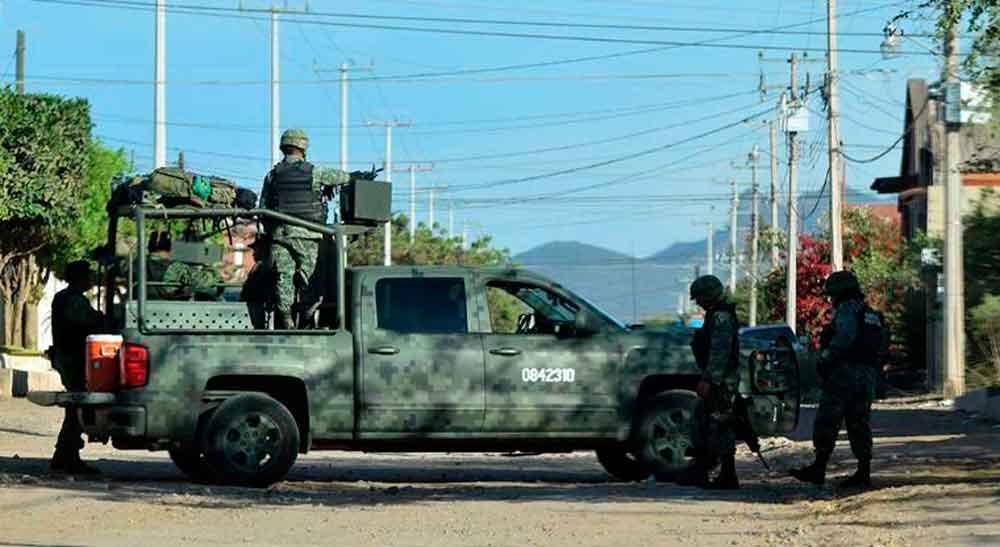 Fuerte balacera deja seis muertos en Sinaloa