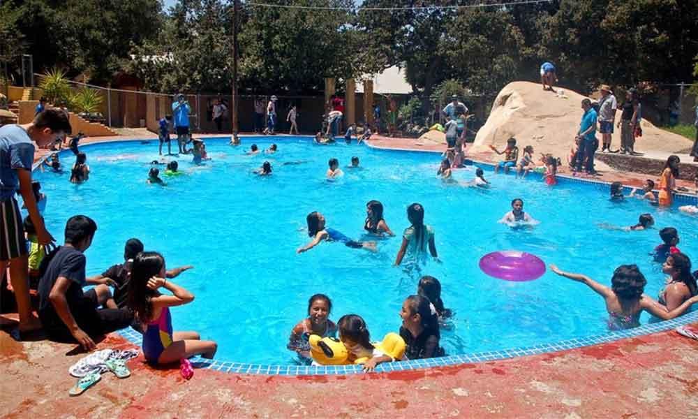 Albercas en Tecate libres de amiba de la vida libre