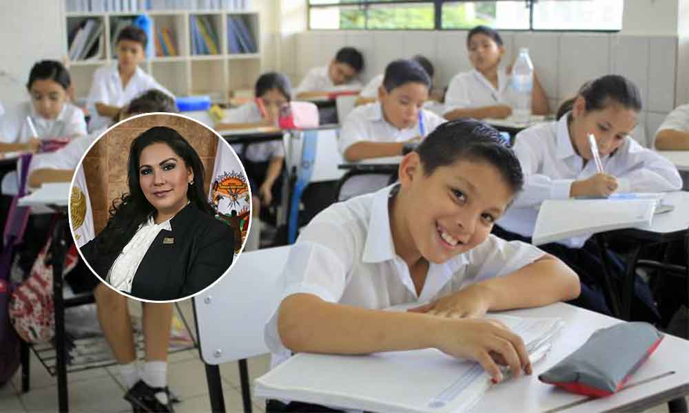 Diputada de Tijuana ofrece becas a estudiantes destacados