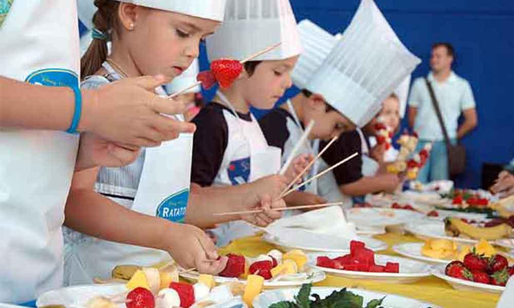 Curso de cocina para niños y jóvenes en Tecate