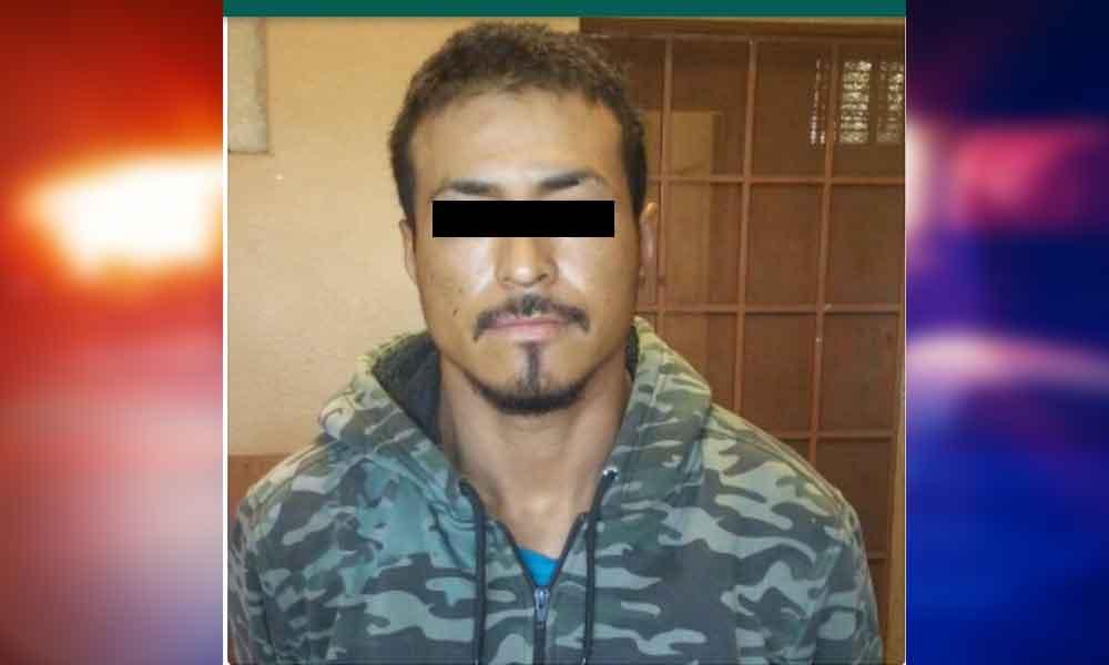 Detenido en Tecate bajo los delitos de robo y portación de armas