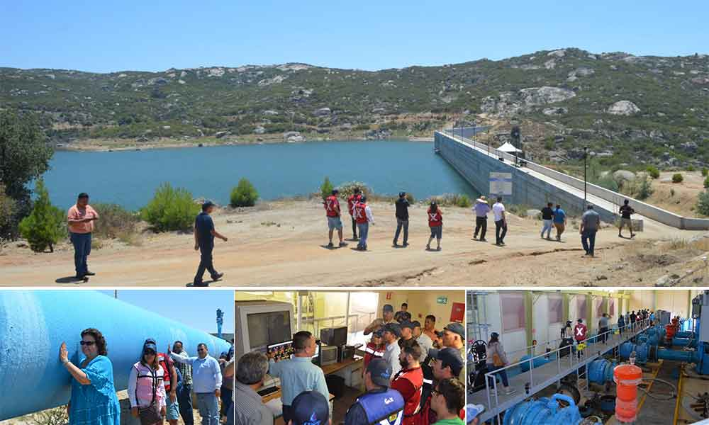 Realizan recorrido por acueducto Río Colorado – Tijuana, en el marco del Día del Ingeniero
