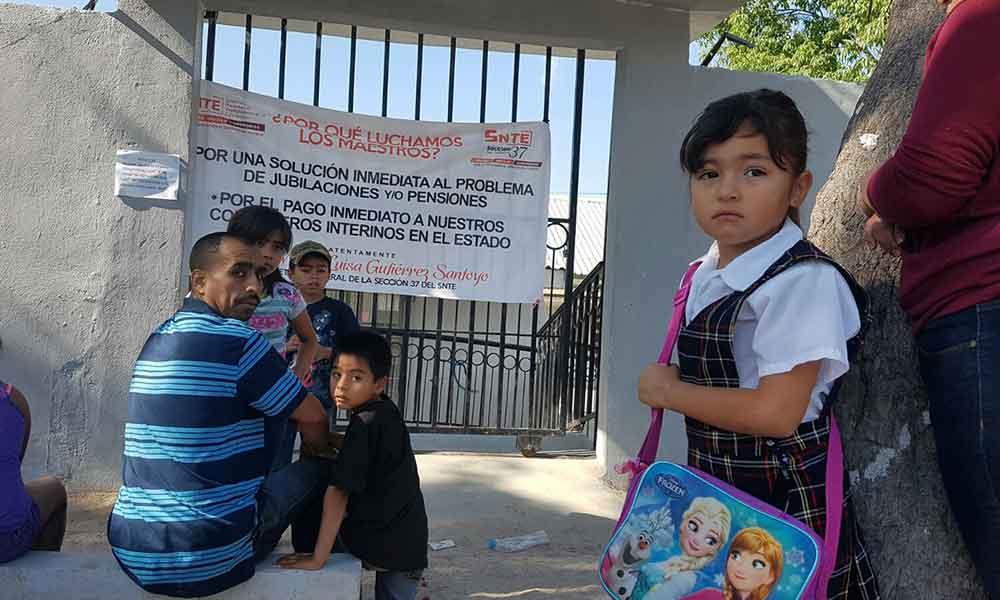 SNTE Sección 37 pone fin a manifestaciones en Baja California