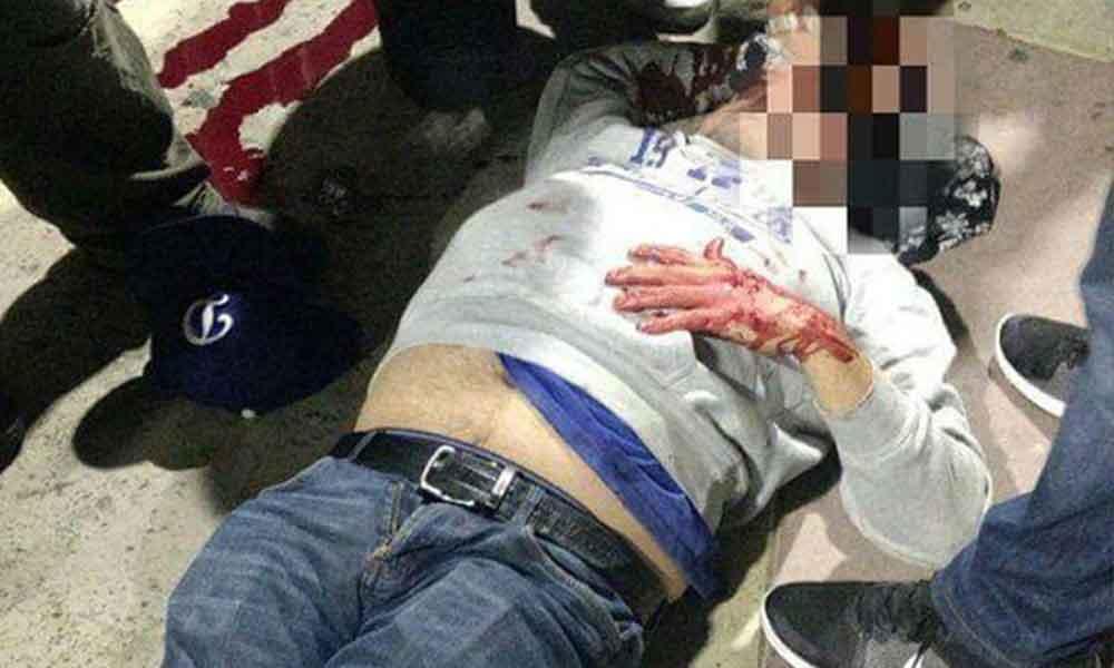 VIDEO: Taxistas golpean a personas por pedir Uber en Tijuana