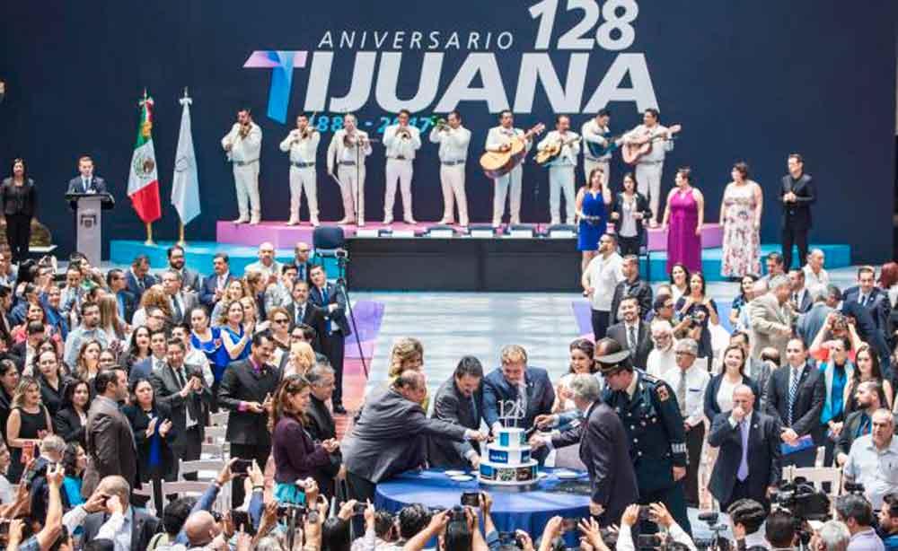 Tijuana celebra 128 años de su fundación