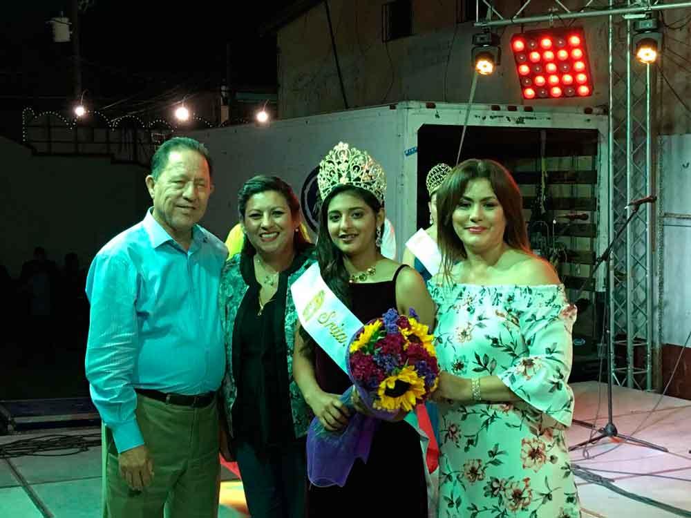 Alcaldesa corona a reinas de la Romería de Verano 2017