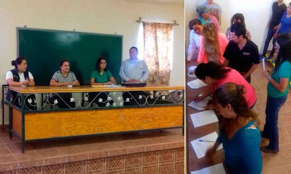Instalan Programa de Empleo Temporal en la Delegación Mi Ranchito