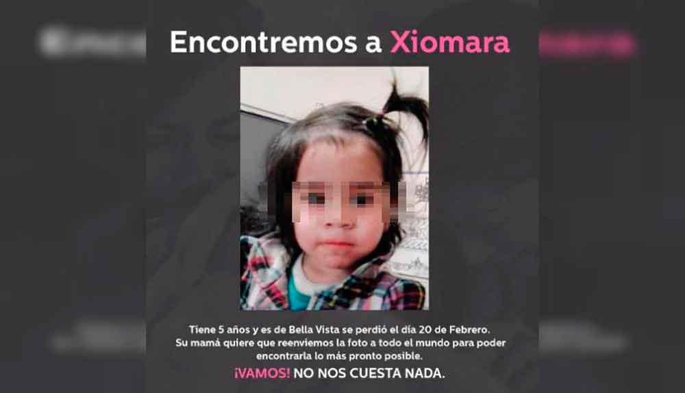 ¿Viste la foto de esta niña en Facebook? ¡No la compartas!