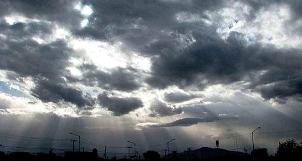 Tormentas eléctricas para Tecate hoy por la tarde