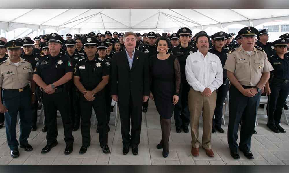 Reconoce Gobernador labor de la Policía Federal en Baja California