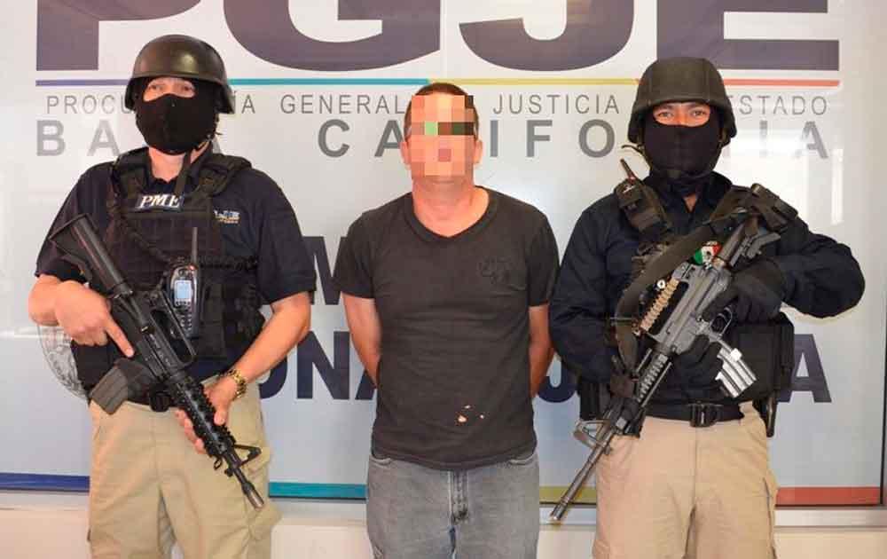 Capturan en Tijuana a sujeto involucrado en el homicidio de tres policías