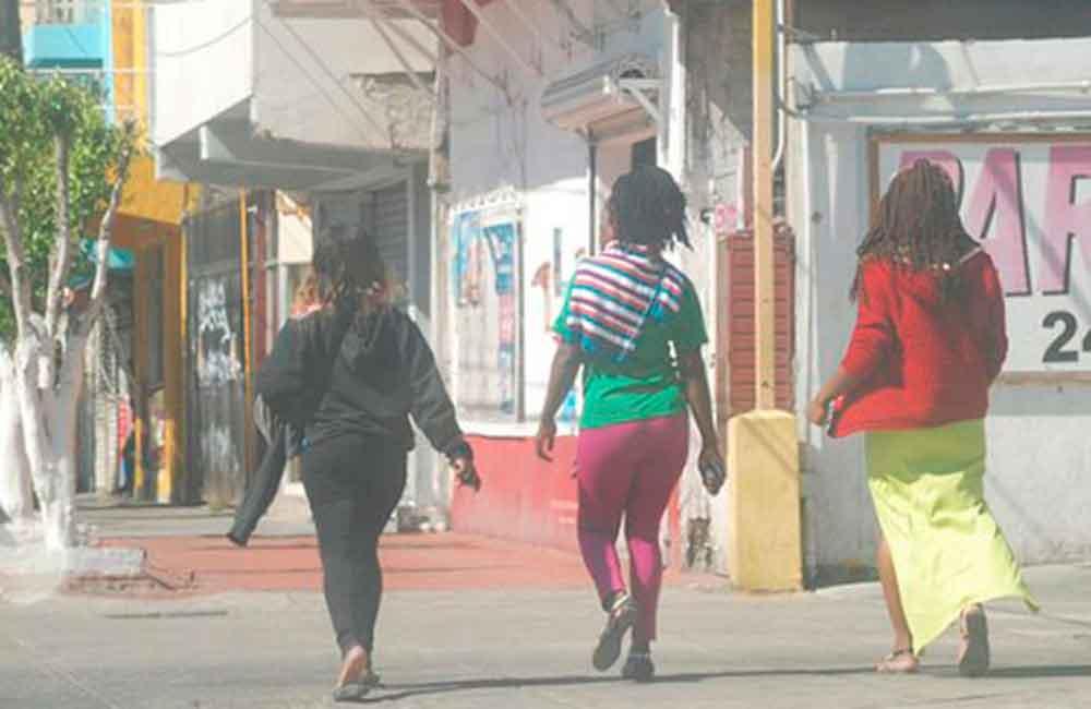 Haitianas ejercen la prostitución en Tijuana