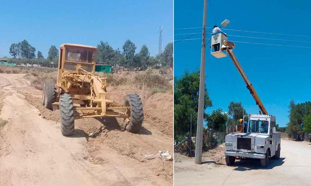 Obras Públicas rehabilita caminos en la zona rural