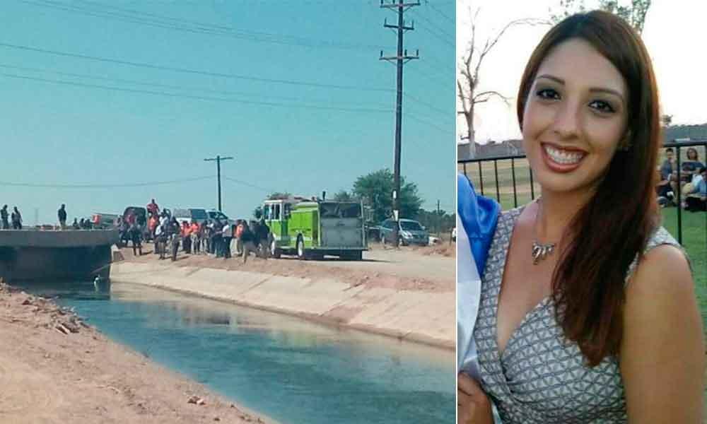Reportada como desaparecida, la hallan en canal con su auto