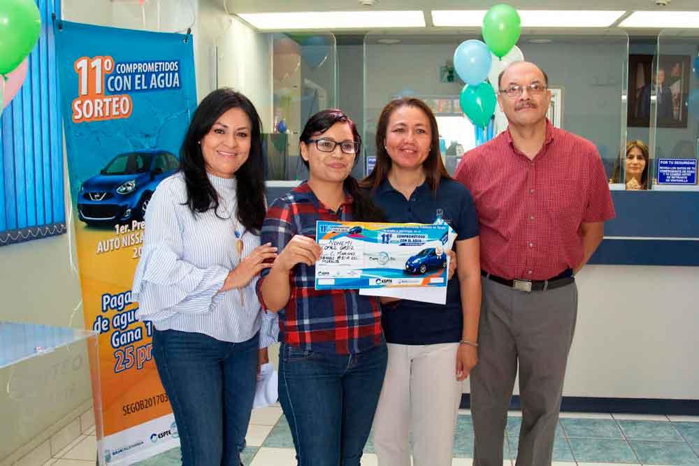 Inicia Gobierno de BC entrega de boletos del sorteo comprometidos con el agua