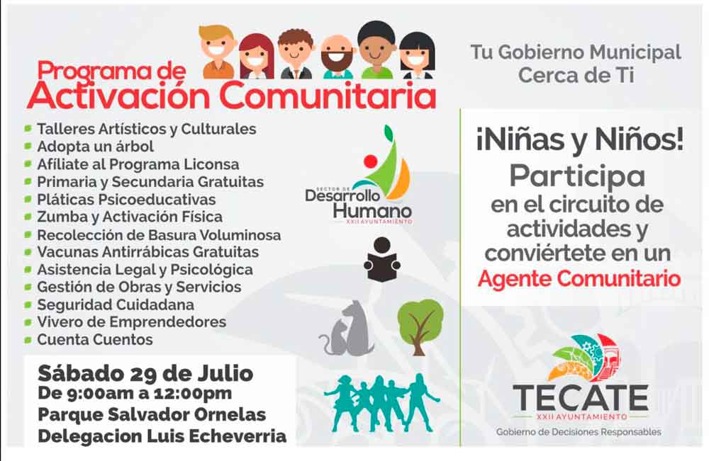 Ayuntamiento llevará el Programa de Activación Comunitaria a El Hongo