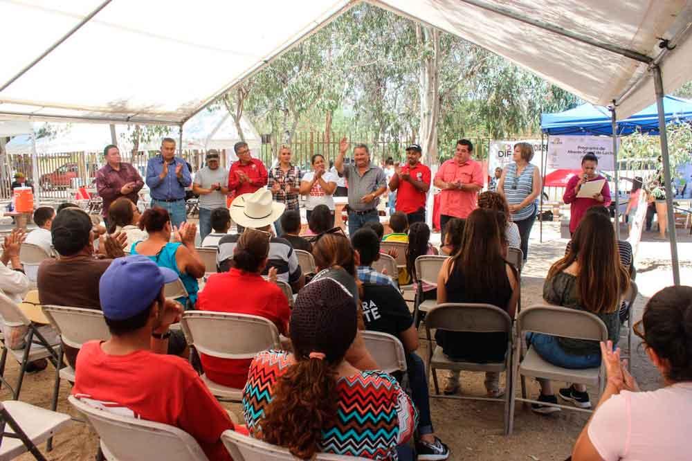 Gobierno Municipal acercó servicios a residentes de El Hongo