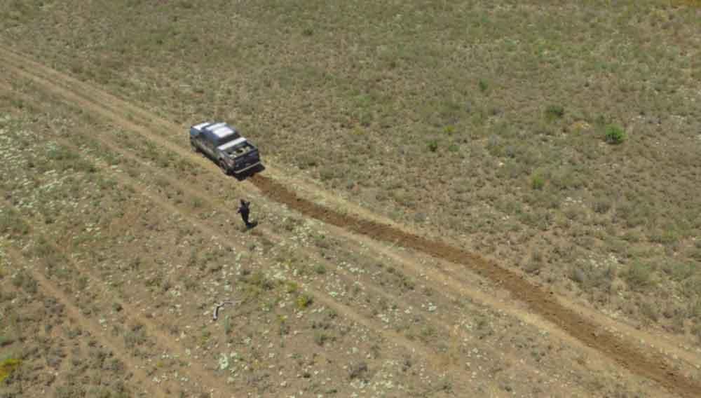 Policía Federal inhabilita pista clandestina en Baja California