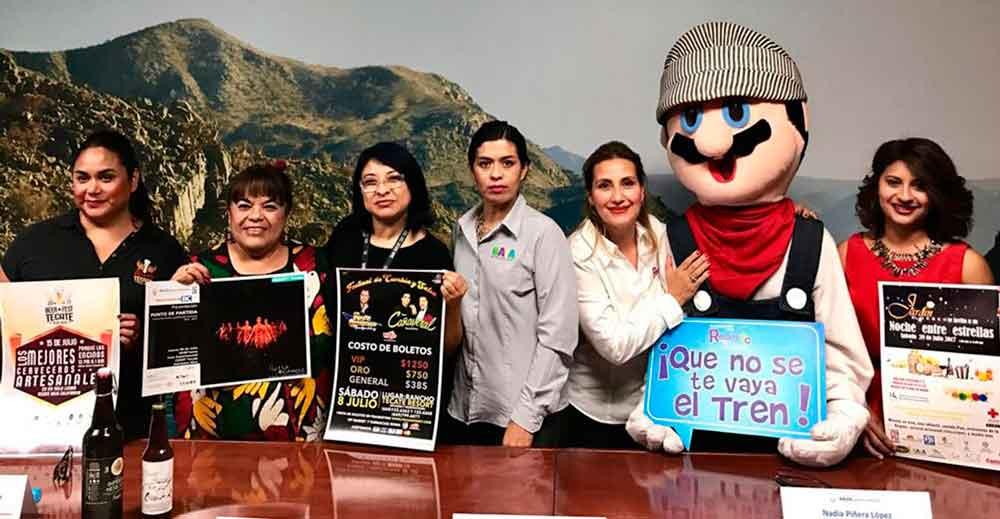 Presenta Gobierno de BC calendario de eventos en Tecate