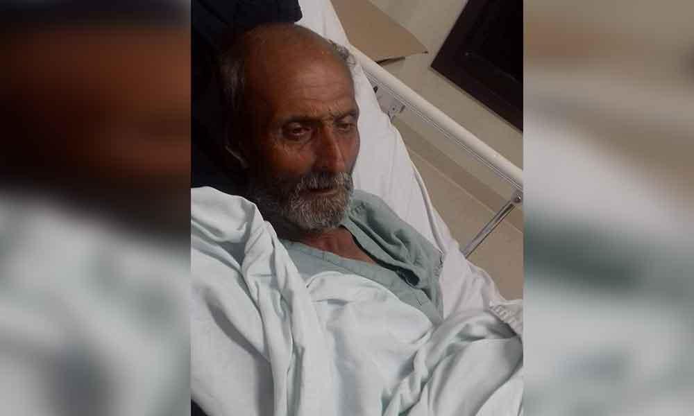 Carlos se encuentra hospitalizado en Sonora, piden apoyo para localizar a sus familiares de Tecate