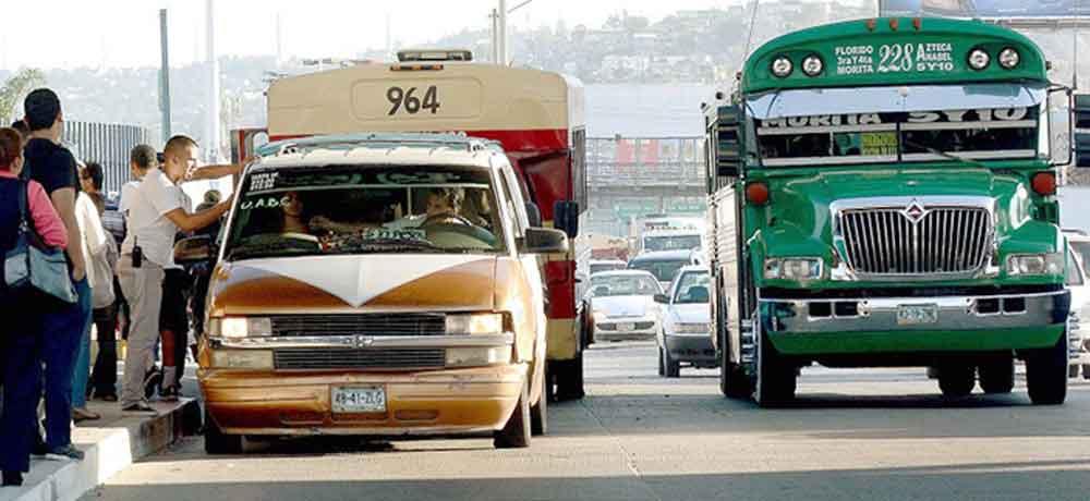 Aprueban aumento de tarifa de transporte público en Tijuana