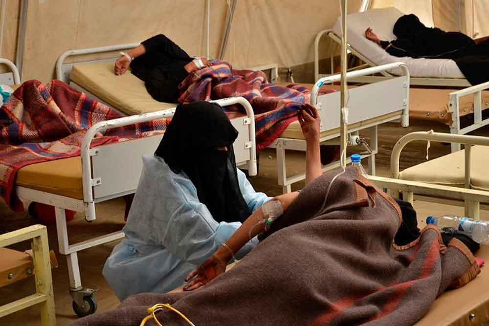 Epidemia de cólera en Yemen suma ya mil 500 muertos